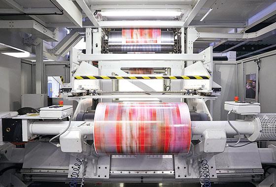 Flexographic printing - Graphische Technik und Handel Heimann GmbH, Pferdekamp 9, D-59075 Hamm