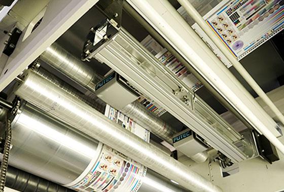 Flexo printing machine -Graphische Technik und Handel Heimann GmbH, Pferdekamp 9, D-59075 Hamm